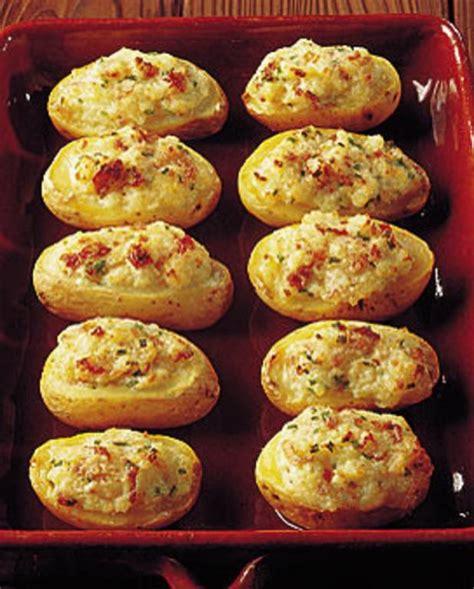 pommes de terre farcies au mascarpone pour 4 personnes