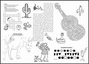 Children's Menus | Kid's Coloring Menus for Restaurants