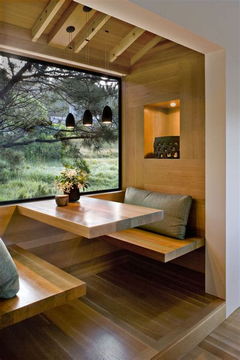 breakfast nook designs   modern kitchen  cozy dining