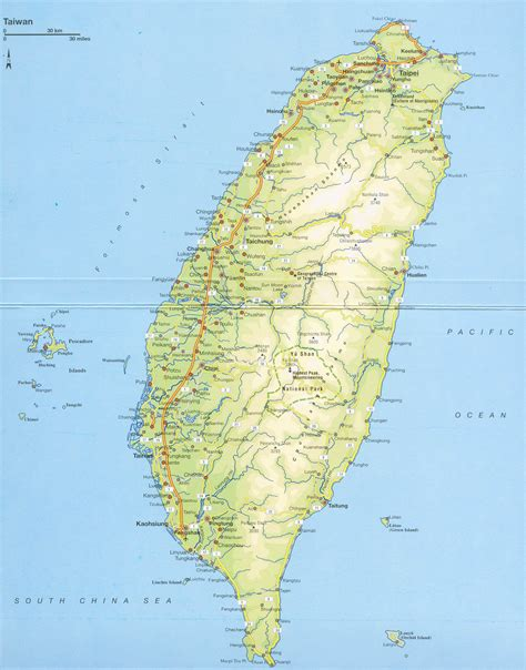 maps  taiwan