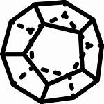 Dodecahedron Icon Svg Rectangle Frame Vectors Icons
