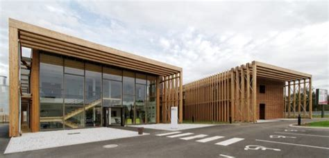 bureau d ude batiment lauréats du 1er prix de la construction bois en midi