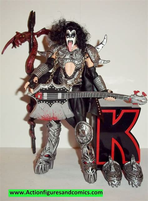 spawn kiss action figures gene simmons  complete todd
