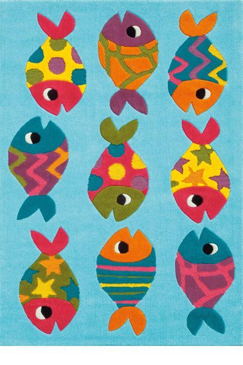 arte espina kinderkamer vloerkleed vissen korting