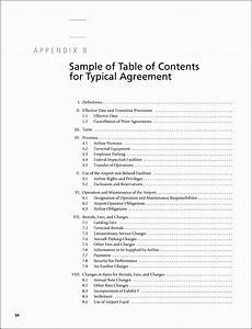 7 Table Of Contents Template Online - SampleTemplatess ...