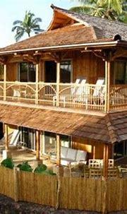 Construction of Bamboo House Design | Bamboo house design ...
