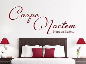 Wandtattoo Carpe Noctem : wandtattoo carpe noctem nutze die nacht wandtattoo de ~ Sanjose-hotels-ca.com Haus und Dekorationen