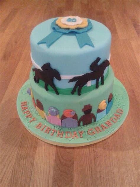 horse racing cake decorated cakes pinterest racing