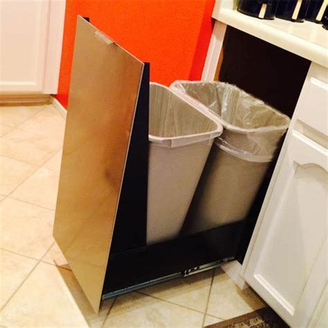 trash cans trash  recycling cabinet  trash cans  imperial kitchensourcecom