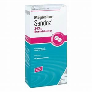 Saturn Dortmund Angebote : magnesium sandoz 243 mg brausetabletten 40 stk ~ Jslefanu.com Haus und Dekorationen