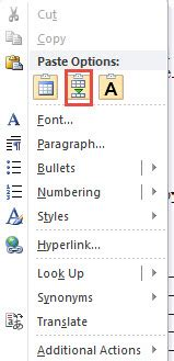 quick ways  merge  tables   word document
