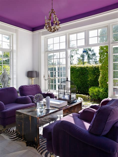 purple livingroom 18 purple living room designs ideas design trends