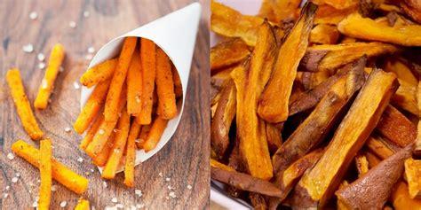frites de patates douces au  une recette simple