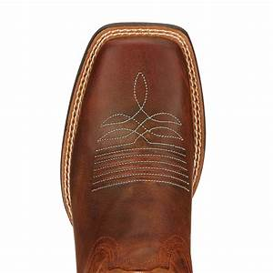Ariat Womens Round Up Ryder Wide Square Toe Cowboy Boots