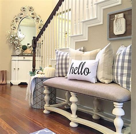 Decorating Ideas For Living Room With Stairs by Entry 1 Decorating Ideas Furniture Bench Decor Home