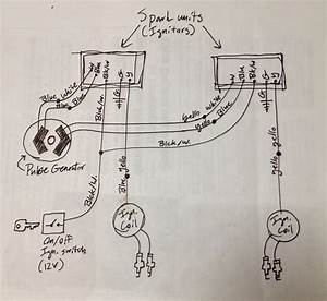 Cdi Electronic Ignition Conversion Wiring Schematic Honda