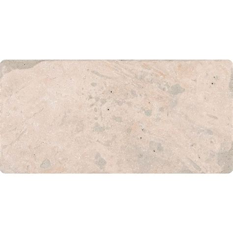 tuscany home depot ms international tuscany classic 3 in x 6 in tumbled travertine floor and wall tile 1 sq ft