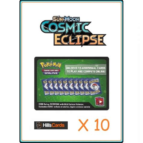 Maybe you would like to learn more about one of these? Pokemon Trading Card Game 10x Sun & Moon Cosmic Eclipse ...