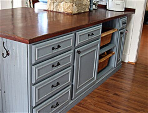 painted cabinets in kitchen five diy recycled kitchen countertop ideas networx 3969