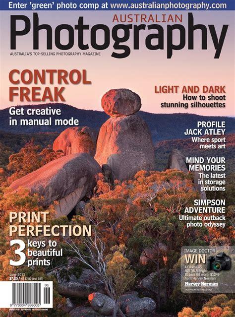 Latest Australian Photography Magazine Cover Image June