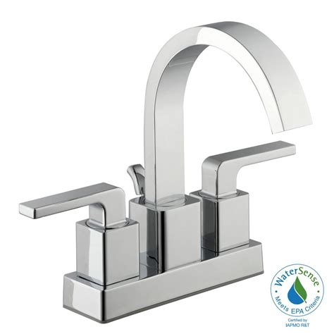 kitchen sinks with faucets glacier bay farrington 4 in centerset 2 handle hi arc 6101