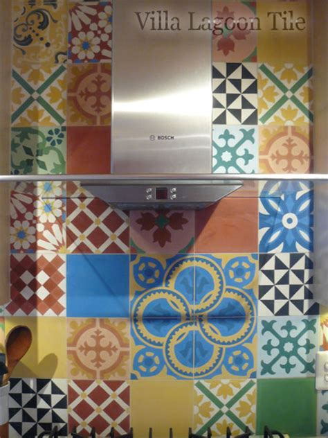 Encaustic Patchwork Cement Tiles for UK & Europe   Villa