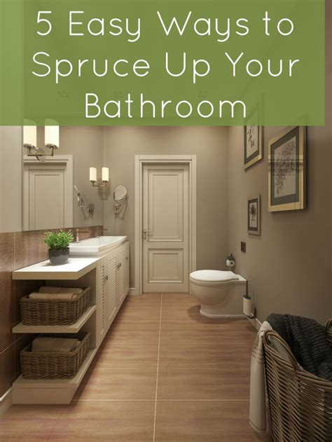Spruce Up Bathroom On A Budget by Five Easy Ways To Spruce Up Your Bathroom How Was Your Day