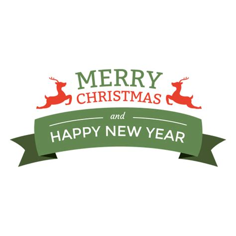 Background Png Merry And Happy New Year Png by New Year Ribbon Seal Transparent Png Svg Vector