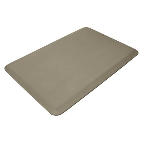 target kitchen floor mats beige professional grade anti fatigue comfort kitchen mat 6008