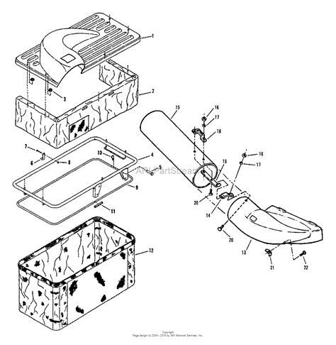 snapper 7060943 catcher single bag 28 33 quot r e r 33 quot lt series parts diagram for single