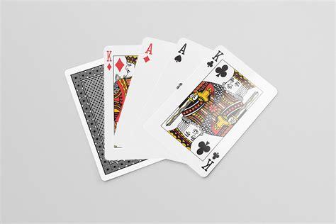 playing cards  mock  mockup world hq