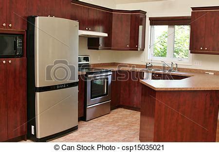 madera moderno gabinetes cocina madera inoxidable
