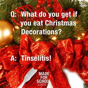 Bad Dad Joke: Feasting on Decorations Made For School
