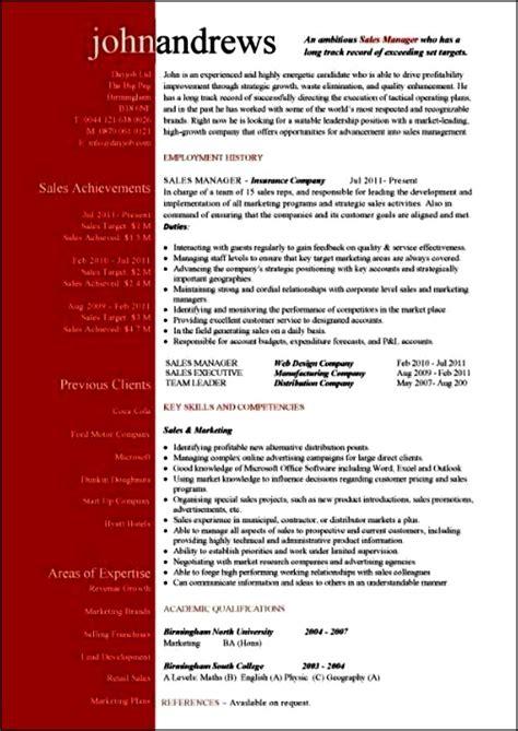 modern resume templates 2016 free sles exles
