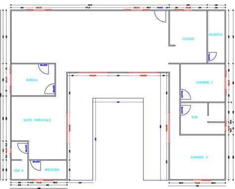 plan maison en u get free not buy search results pin maison en u avec piscine maison u avec patio on