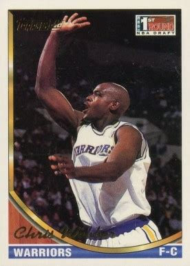 We did not find results for: 1993 Topps Chris Webber #224 Basketball - VCP Price Guide