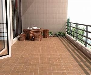 bodenbelag fur balkon 20 tolle beispiele archzinenet With balkon teppich mit braune tapeten wohnzimmer