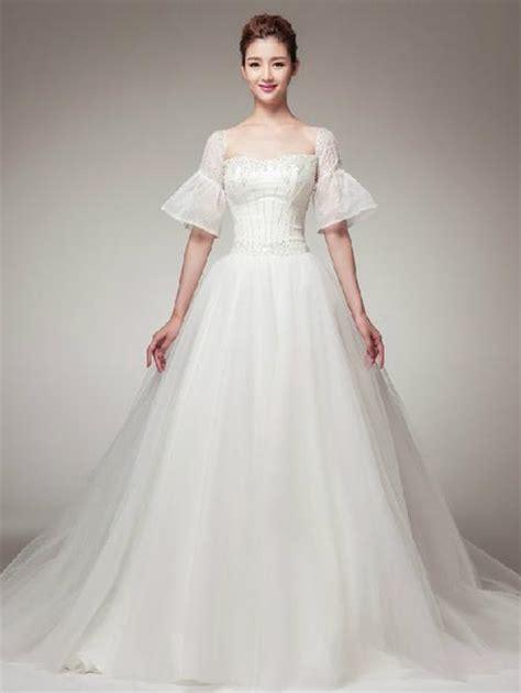 Retro Vintage Style Princess A Line Wedding Dress With