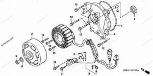 Honda Scooter 2003 Oem Parts Diagram For Alternator Stator