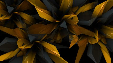 Abstract Black Golden by Black And Gold Abstract Wallpapers Top Free Black And