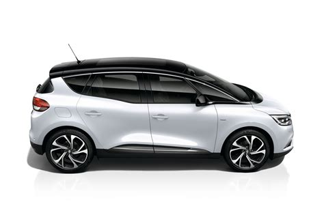 renault scenic 2017 white high end limited edition one joins renault scenic family