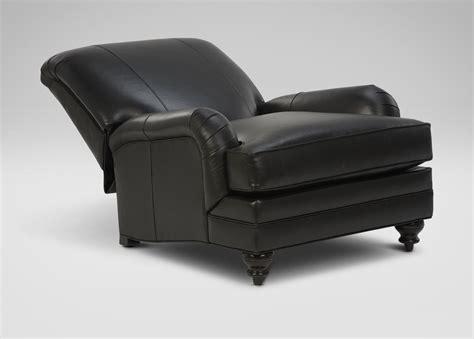 whitfield tilt back leather chair ethan allen