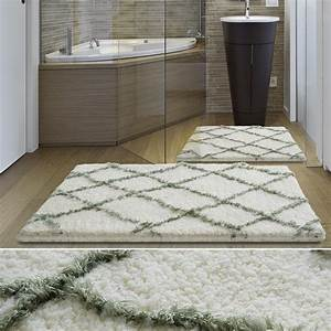 tapis salle de bain grande taille lavable en machine With tapis de bain grande dimension
