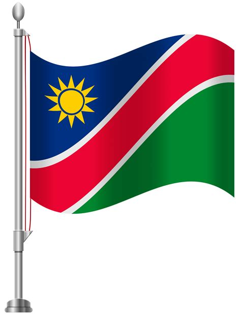 namibia flag png clip art  web clipart