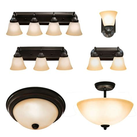 oil rubbed bronze ceiling light  bathroom wall vanity