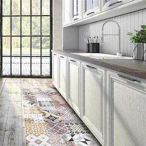 Tapis Cuisine Carreaux De Ciment : tapis de cuisine 10 bonnes raisons de l 39 adopter marie ~ Dailycaller-alerts.com Idées de Décoration