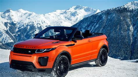 wallpaper range rover evoque convertible cabriolet