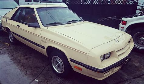 1985 Plymouth Turismo/duster