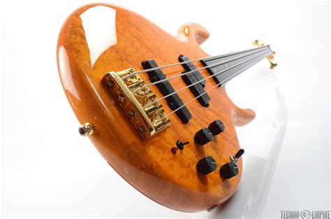 1986 pedulla buzz 4 string fretless bass birdseye maple bartolini 29945 ebay