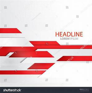 Vector Abstract Business Background With Lines. Template ...